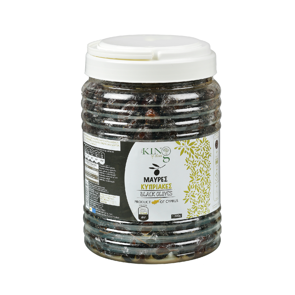 king-of-olives-1300g-plastic-jar-black-cyprus-olives