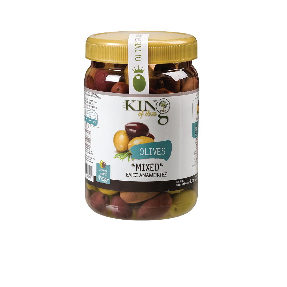 Plastic Jar Olives Packing