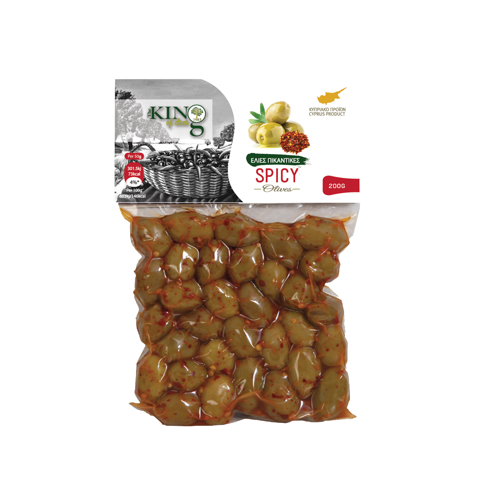 king-of-olives-vacume-green-spicy